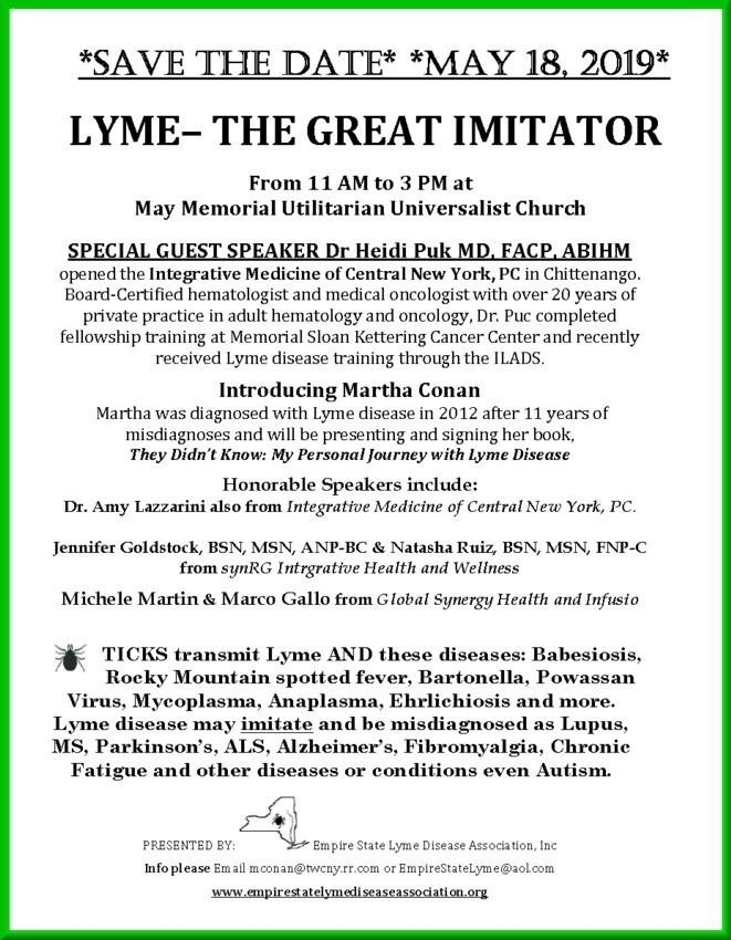lyme disease dating site